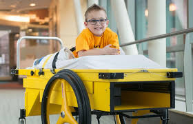 After-Surgery Cart Gives Kids Mobility