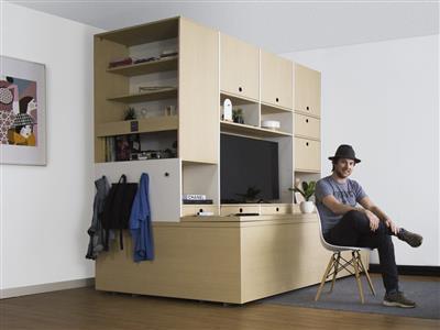 furniture that transforms. Ori Systems Robotic Furniture Transforms Rooms That R