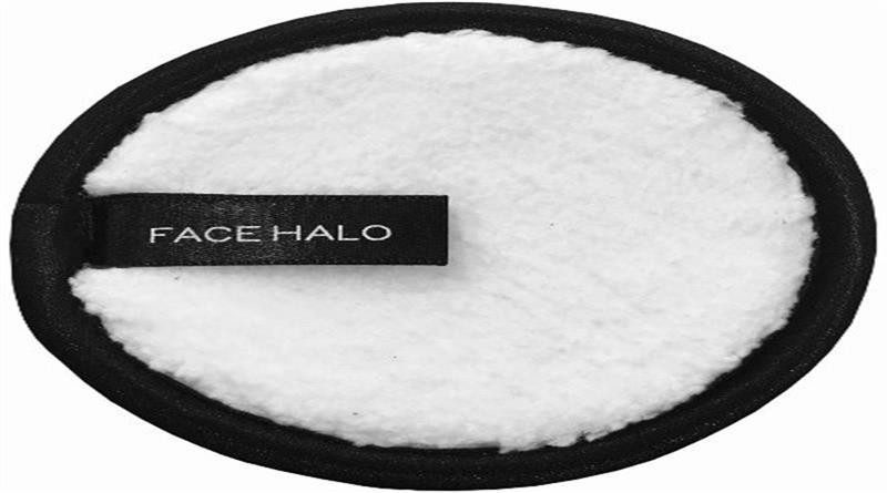 Face halo makeup remove pad
