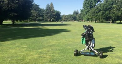 Lightweight eWheels Give Golf Carts Remote Control