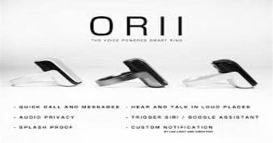 ORii Smart Ring Turns Fingers to a Phone