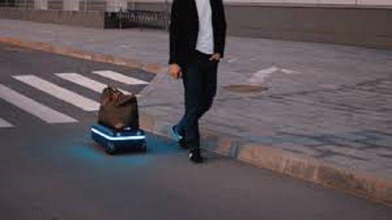 Travelmate Robotic Suitcase Carries Itself