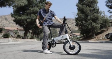 G-Bike a Foldable Carry-On E-Bike