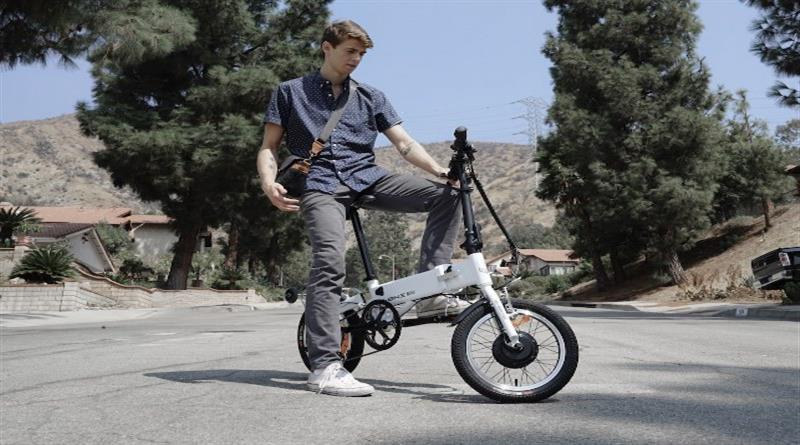 G-Bike a Foldable Carry-On E-Bike