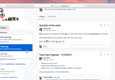 GitHub new collaboration tool is a place for teams to plan and share information
