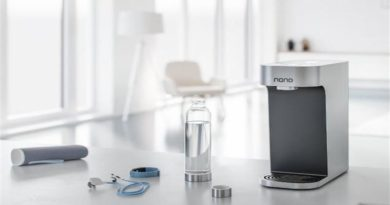 NANO smart water dispenser, a comfortable home product