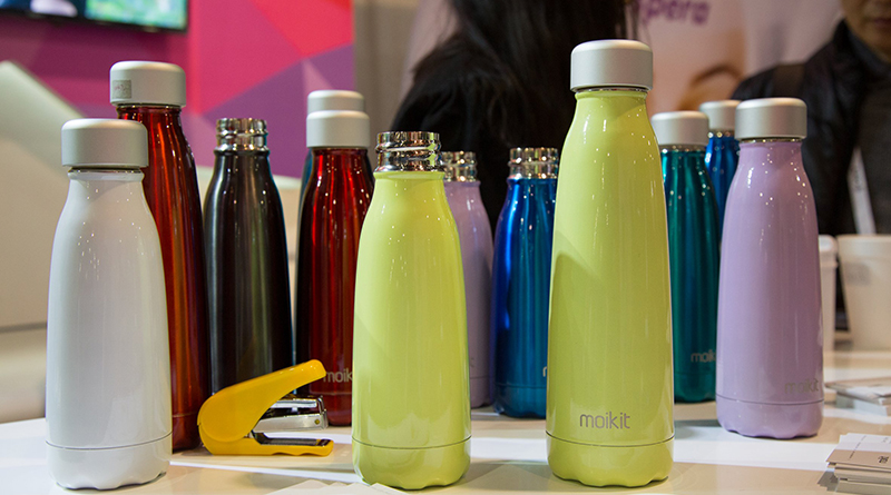Seed Bottle With A Water Consumption Tracker Boring