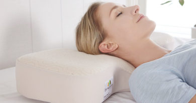 Dual Plus Pillow for soothing sleep patterns
