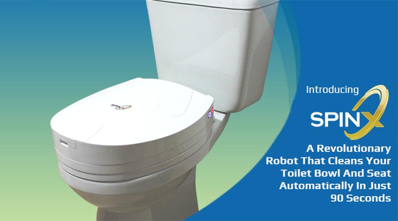 Toilet Cleaner Robot