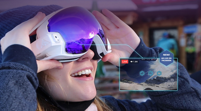 ac582d2e85a Augmented Reality Glasses   The world s First AR Ski Goggles