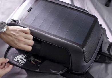 Solar Powered Backpack