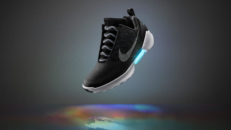 factory authentic huge discount top fashion Nike's Self-Lacing HyperAdapt Basketball Sneakers