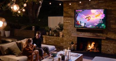 Samsung Takes 4k QLED TV, Excellent Soundbar, Entertainment Outdoor with Terrace
