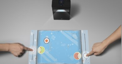 Portable Smart Touchscreen Projector