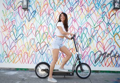 Razor aims for adult riders with big wheel e-scooters